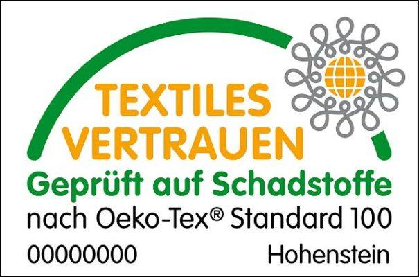Logo OEKO-TEX für Matratzen Köln
