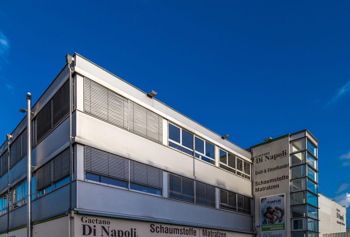Gaetano Di Napoli - Matratzen   Schaumstoffe   Akustik - Gebäude Außenansicht Hauptsitz Robert-Perthel-Str. 82, 50739 Köln